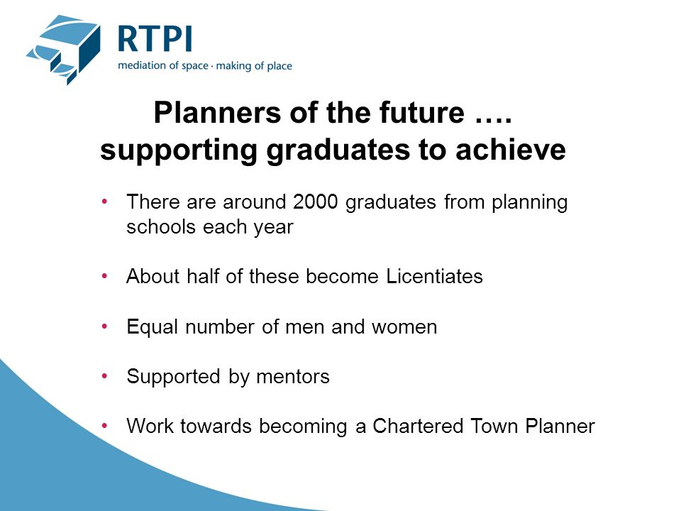 Planners of the future ….