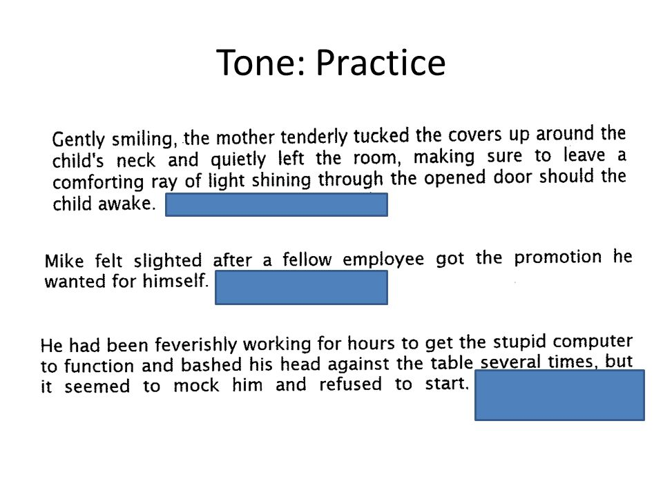 Tone in The Rattler What two tones can you detect in this story? Tone 1Tone 2
