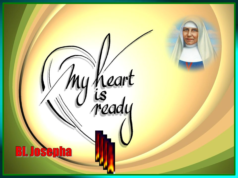 Mother Josepha is blessed with various gifts that witness to sound knowledge good ability and long practice.