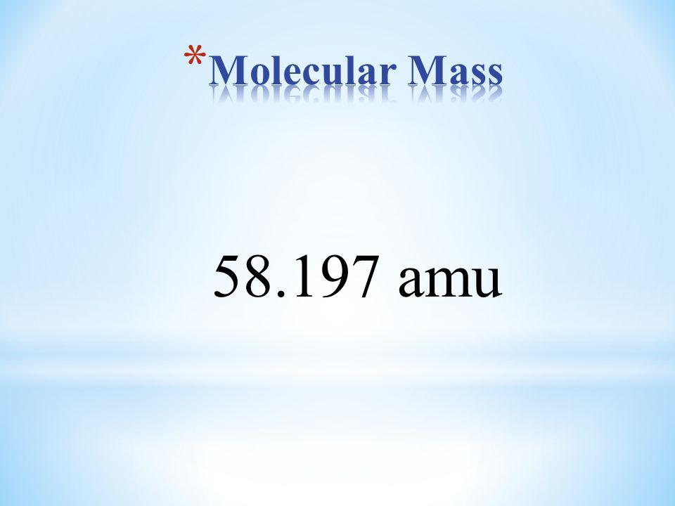 58.197 amu