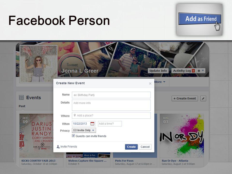 Facebook Person
