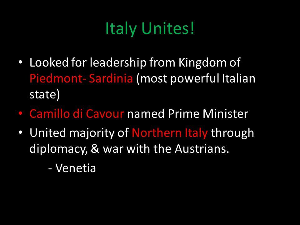 Italy Unites.