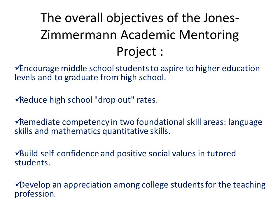Methodology- Quantitative Data Collection Tracked students either by direct contact of the mentees or the district's guidance counselors.