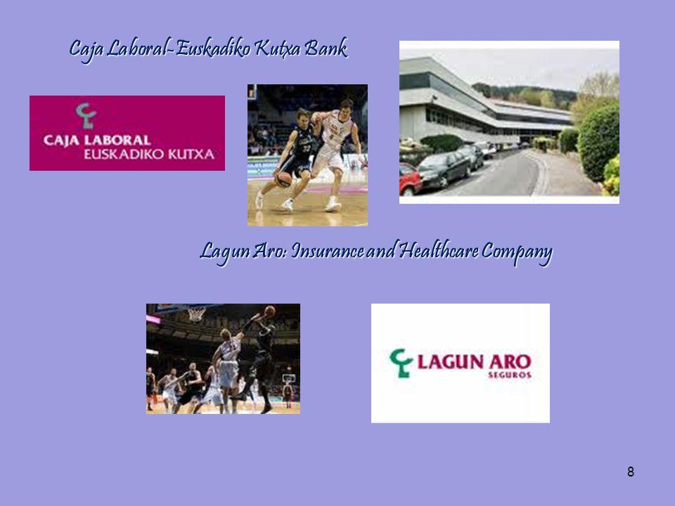 8 Caja Laboral-Euskadiko Kutxa Bank Lagun Aro: Insurance and Healthcare Company