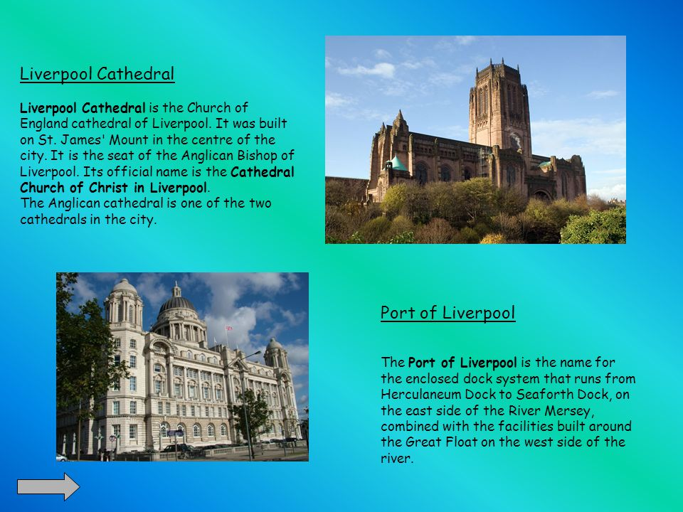 Liverpool Cathedral Liverpool Cathedral is the Church of England cathedral of Liverpool.