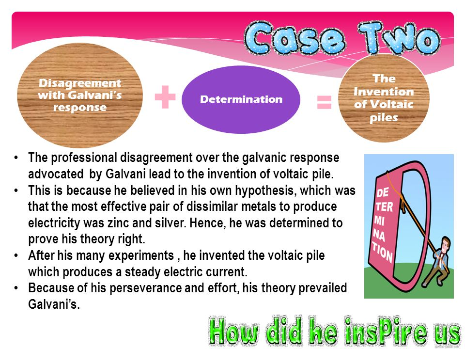 How did he inspire us from the above two cases.