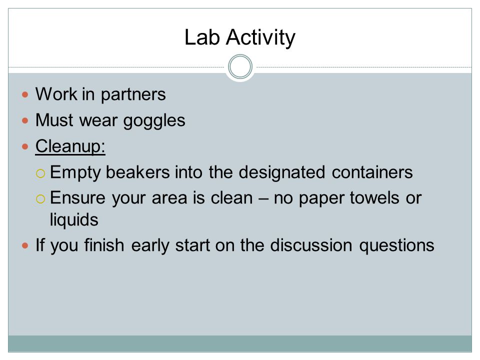 Lab Discussion 1.What is a simulation. 2.