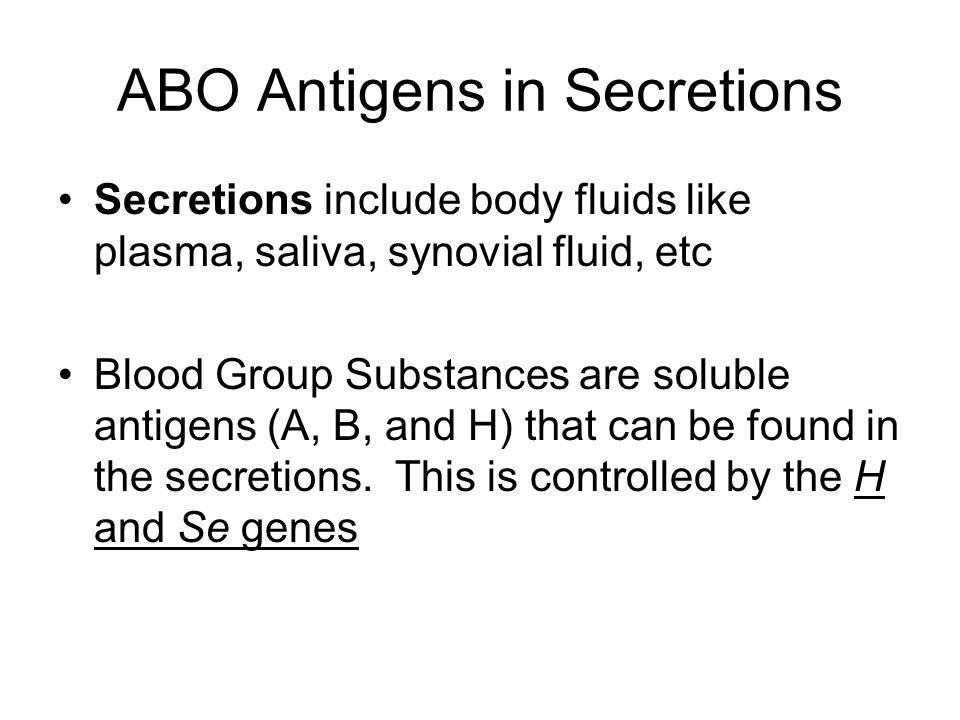 Donor Nucleotides & Immundominant Sugars responsible for H, A, and B Ags specificity AntigenImmunodominant sugarNucleotideGlcosyltransferase Gene HL-f