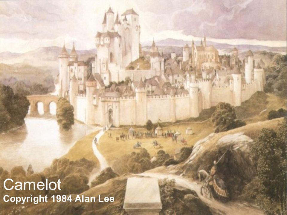 Camelot Copyright 1984 Alan Lee