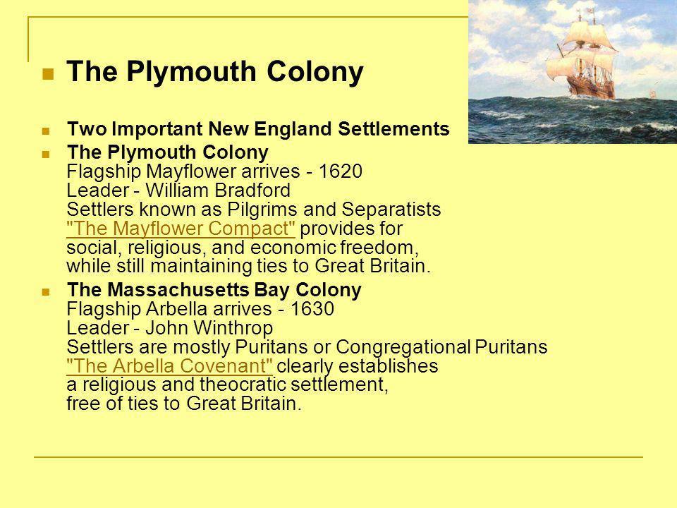I.Basic Puritan Beliefs 1.