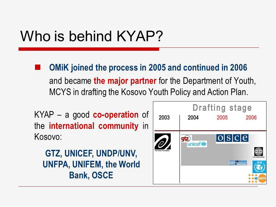 Who is behind KYAP.
