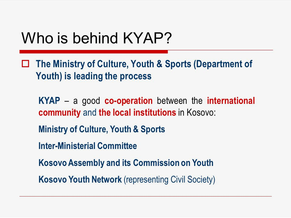 What is the structure behind KYAP.
