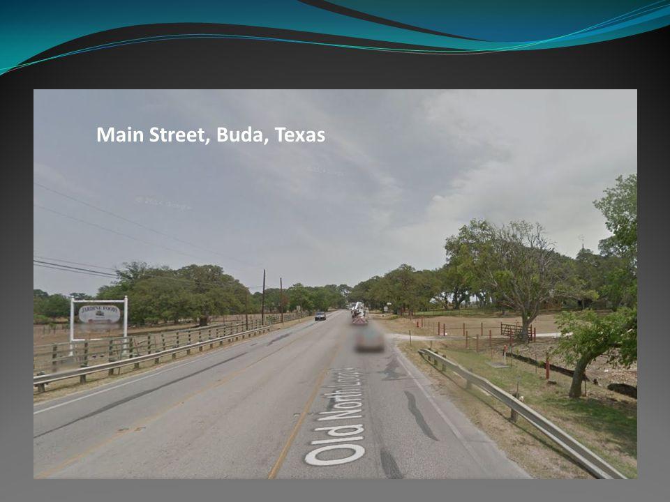 Main Street, Buda, Texas