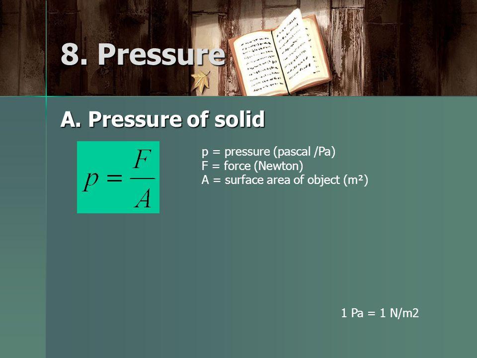 8. Pressure A.