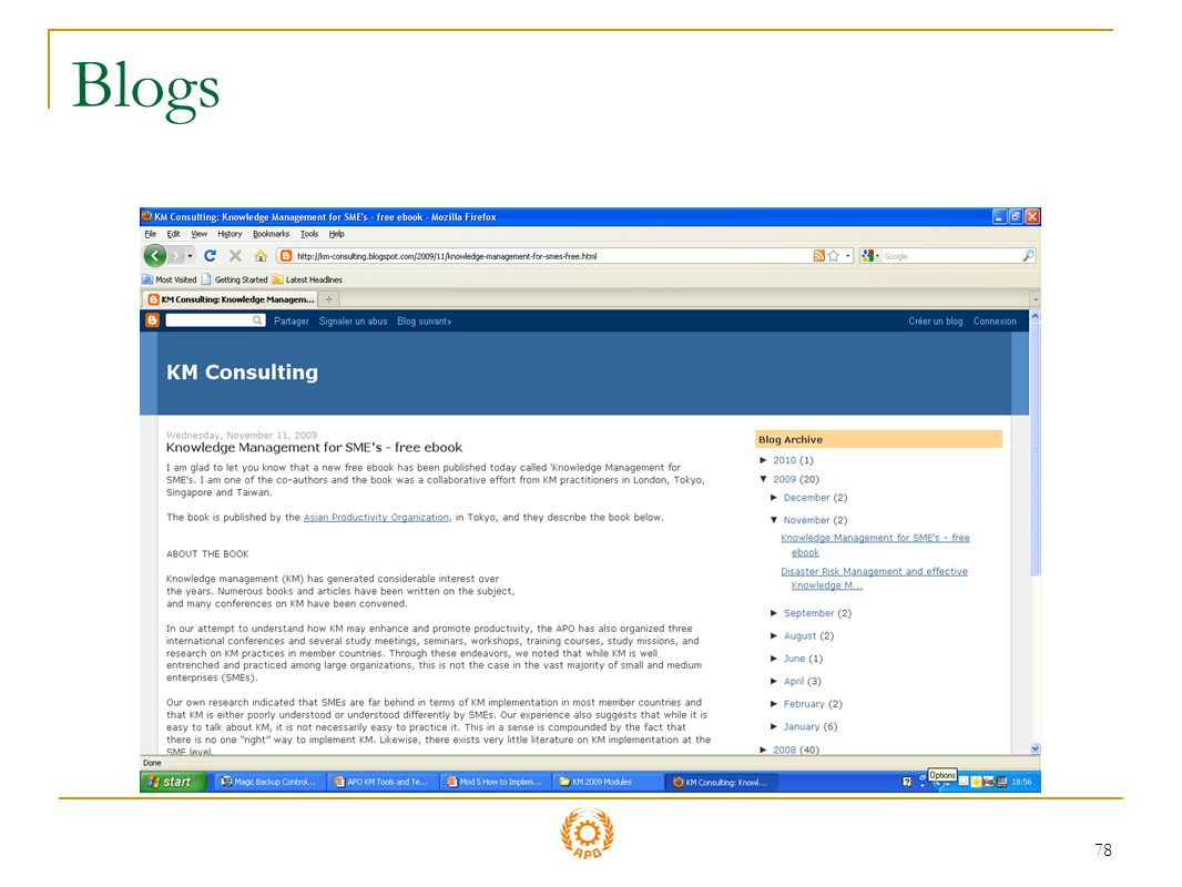 78 Blogs
