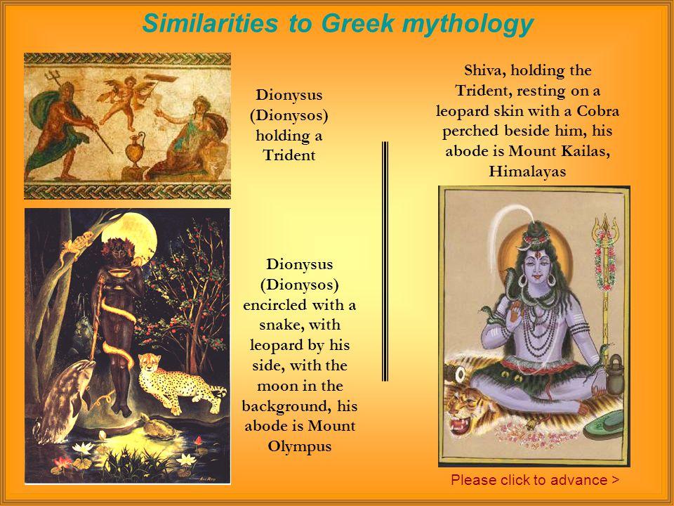 Similarities to Greek mythology Hercules (Herakles) fighting the Lernaean Hydra Krishna (Harekrsna) fighting the Kaliya Serpent Please click to advance >