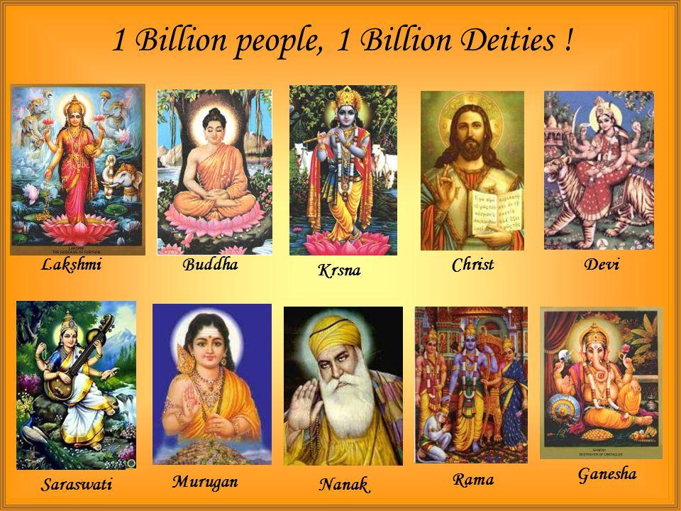 The deities of India