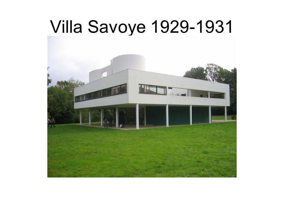 Villa Savoye 1929-1931