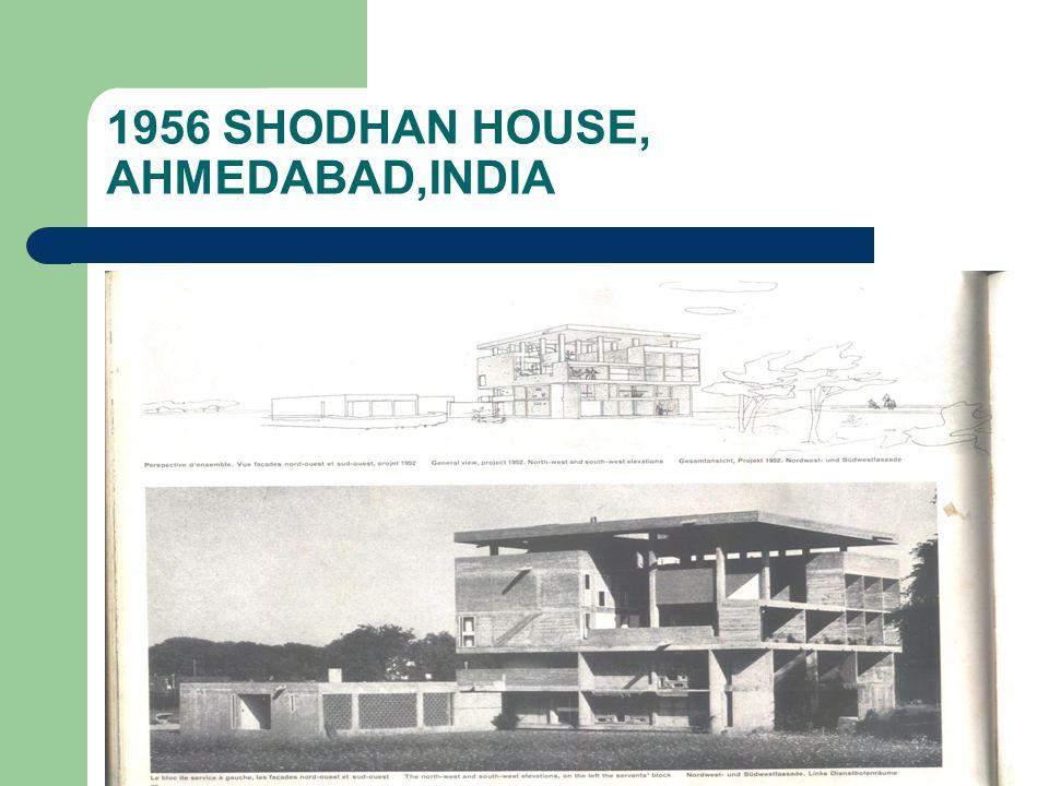 1956 SHODHAN HOUSE, AHMEDABAD,INDIA