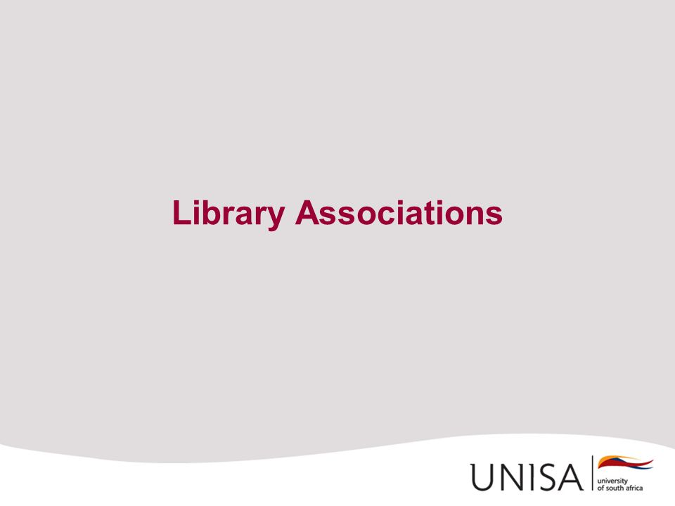 Library Associations
