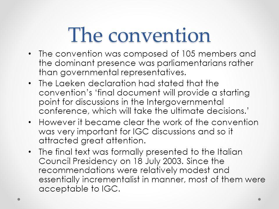 Intergovernmental conference