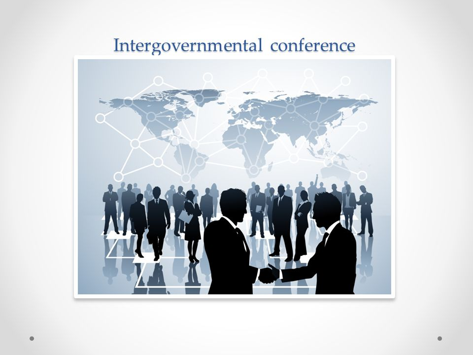 Intergovernmental conference