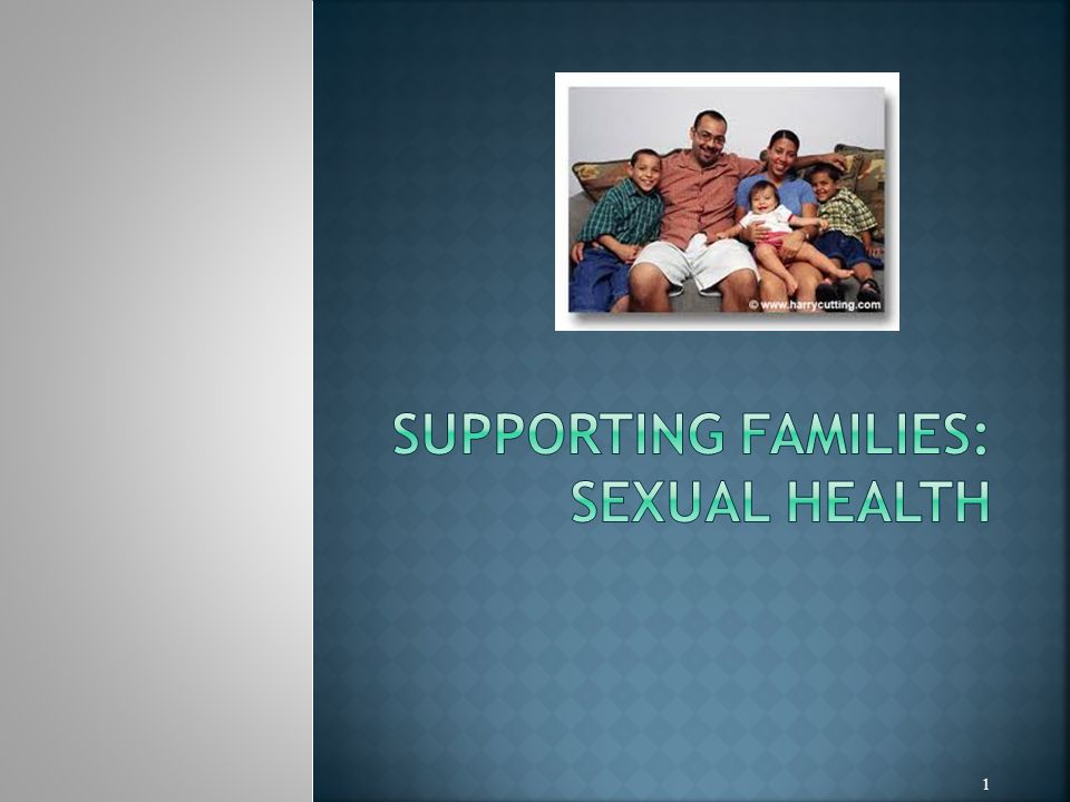To explore the role of the SCPHN in supporting families and individuals in maintaining sexual health.