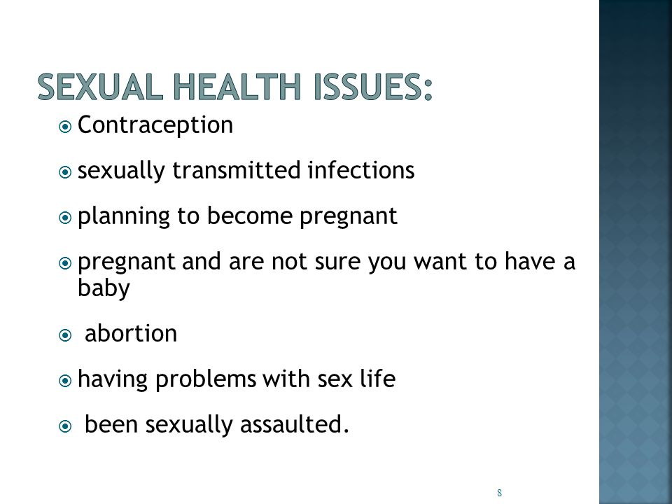  You are not expected to be a sex expert  Consider where you might refer on if a client or young person needs more help.