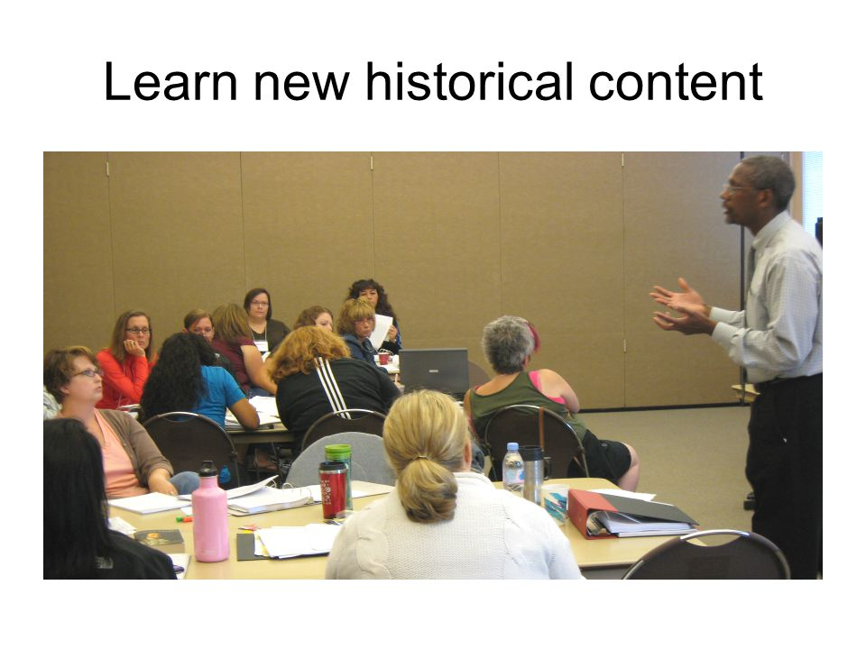 Learn new historical content