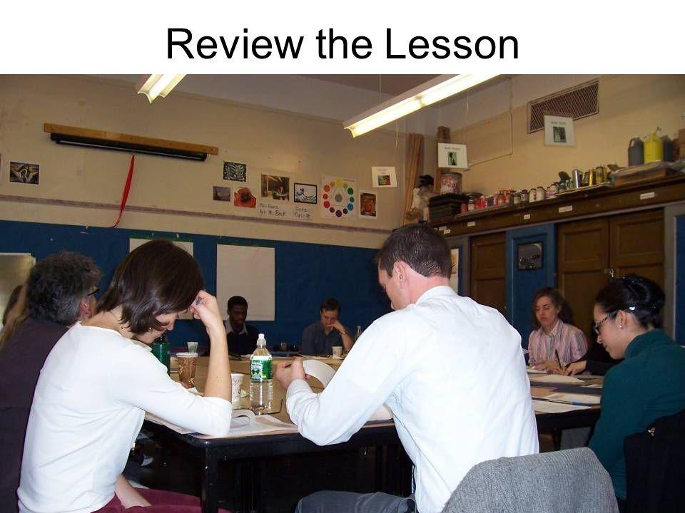 Teach the Lesson