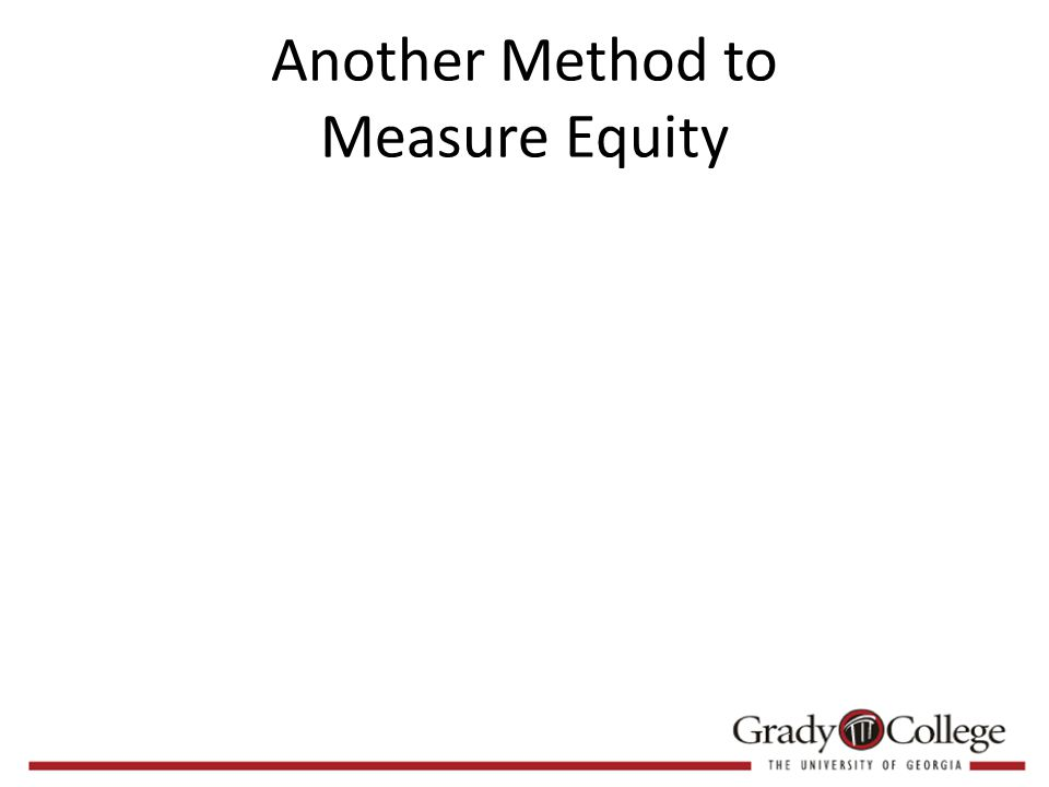 Another Method to Measure Equity