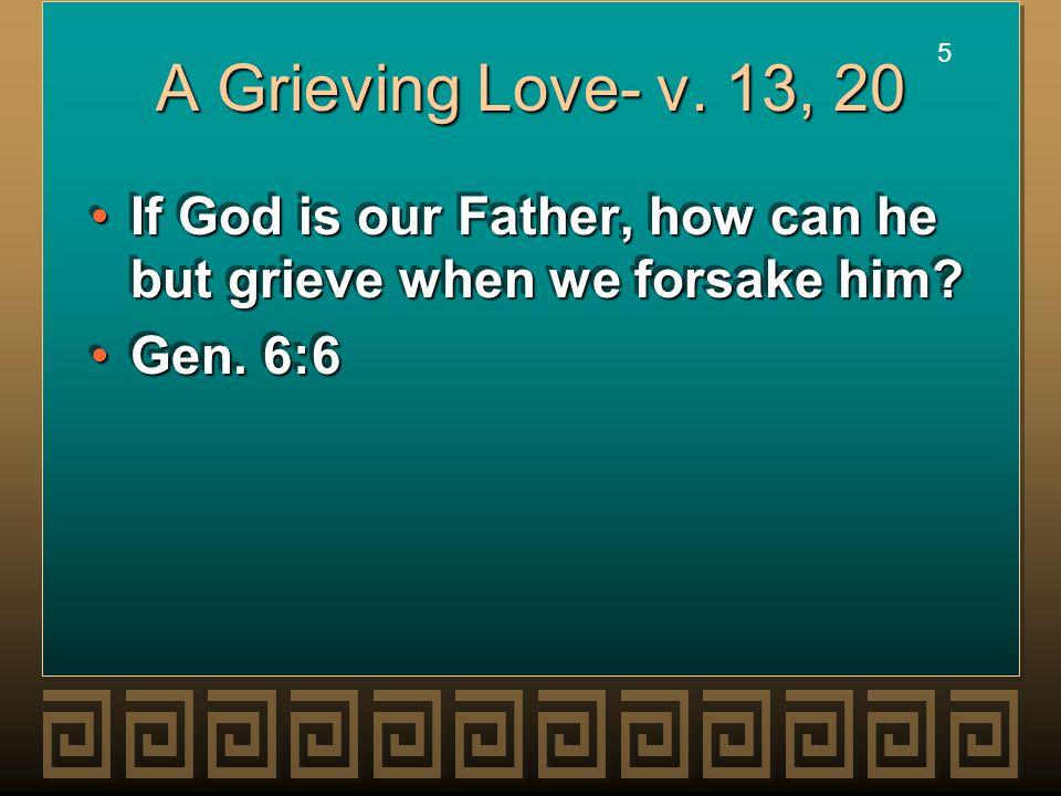 5 5 A Grieving Love- v.