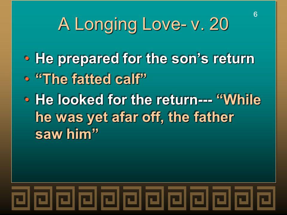 6 6 A Longing Love- v.