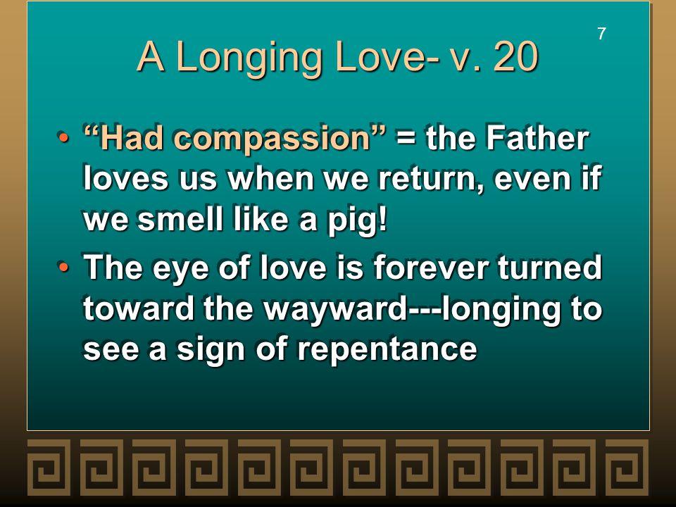 7 7 A Longing Love- v.