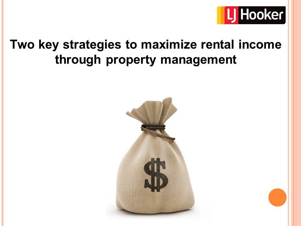 1. Regular rent reviews and rent increases