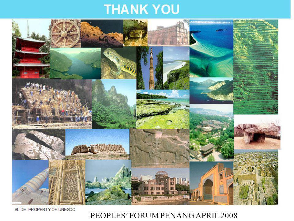 PEOPLES' FORUM PENANG APRIL 2008