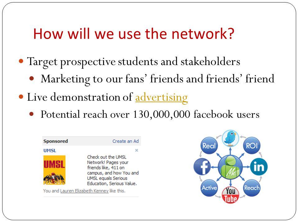 Future for UMSL & facebook.