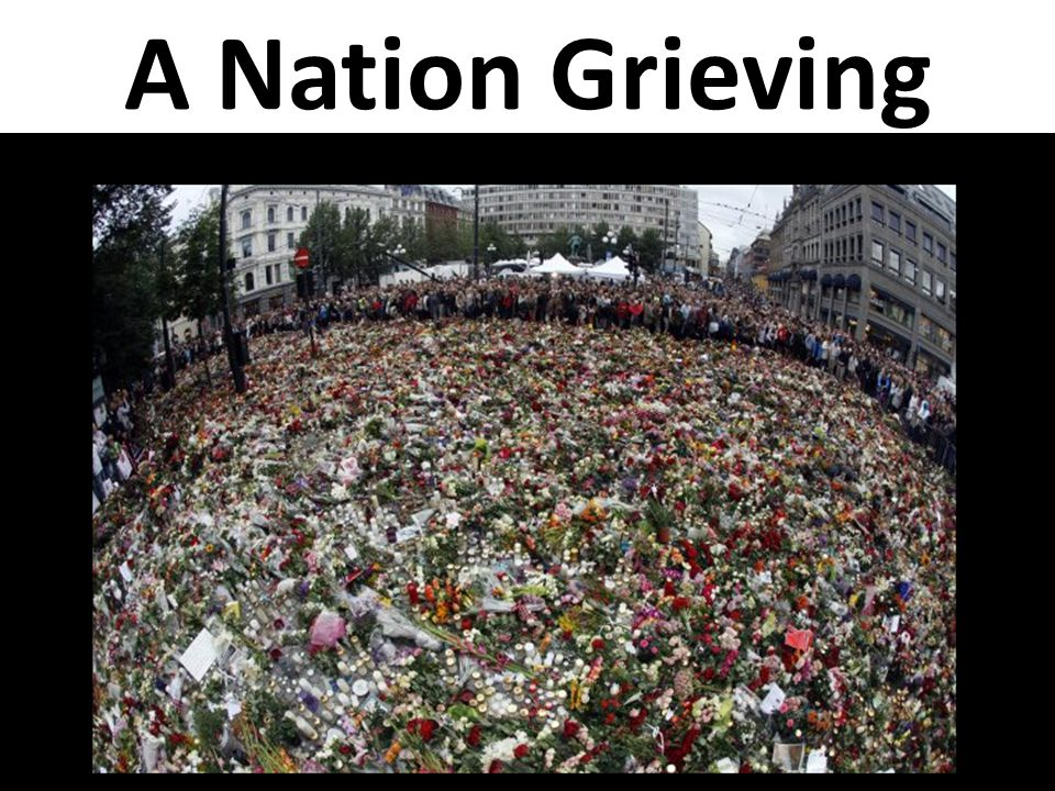 A Nation Grieving