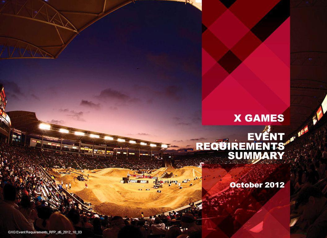 X GAMES ASPEN - SAMPLE VENUE MAP 12 GXG Event Requirements_RFP_d5_2012_10_03