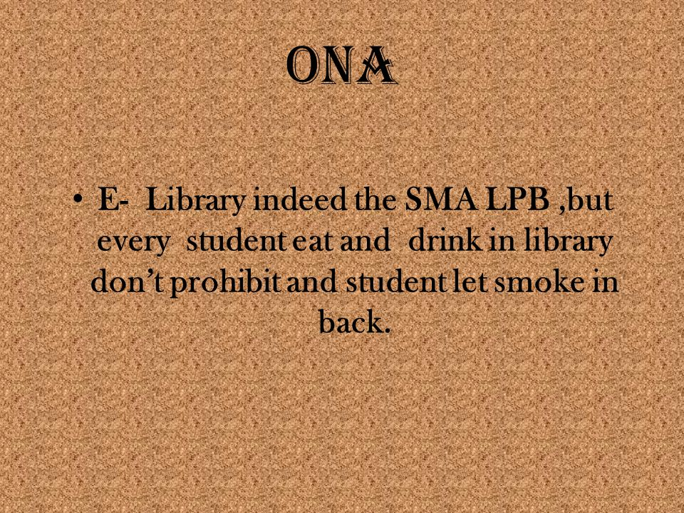 CONCLUSION Students need a library, to prepared complete books and agree with need student with soon.