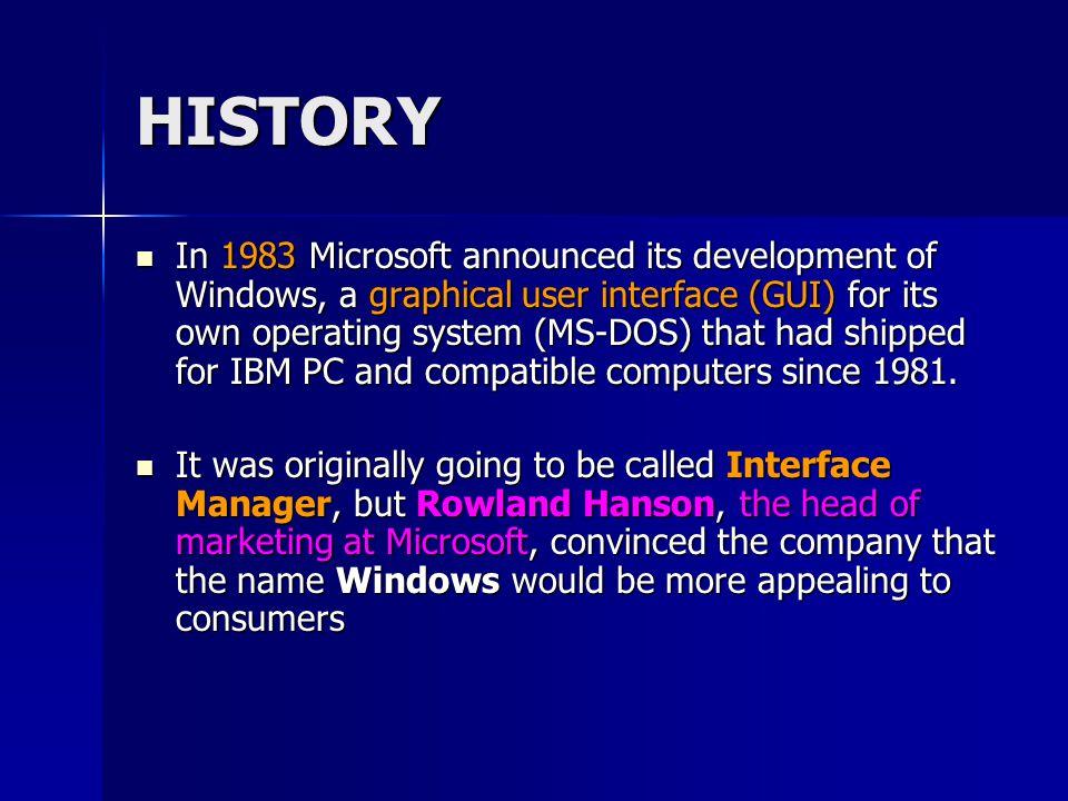 Let's talk about the windows components 1.Desktop (workspace) 2.Icon 3.