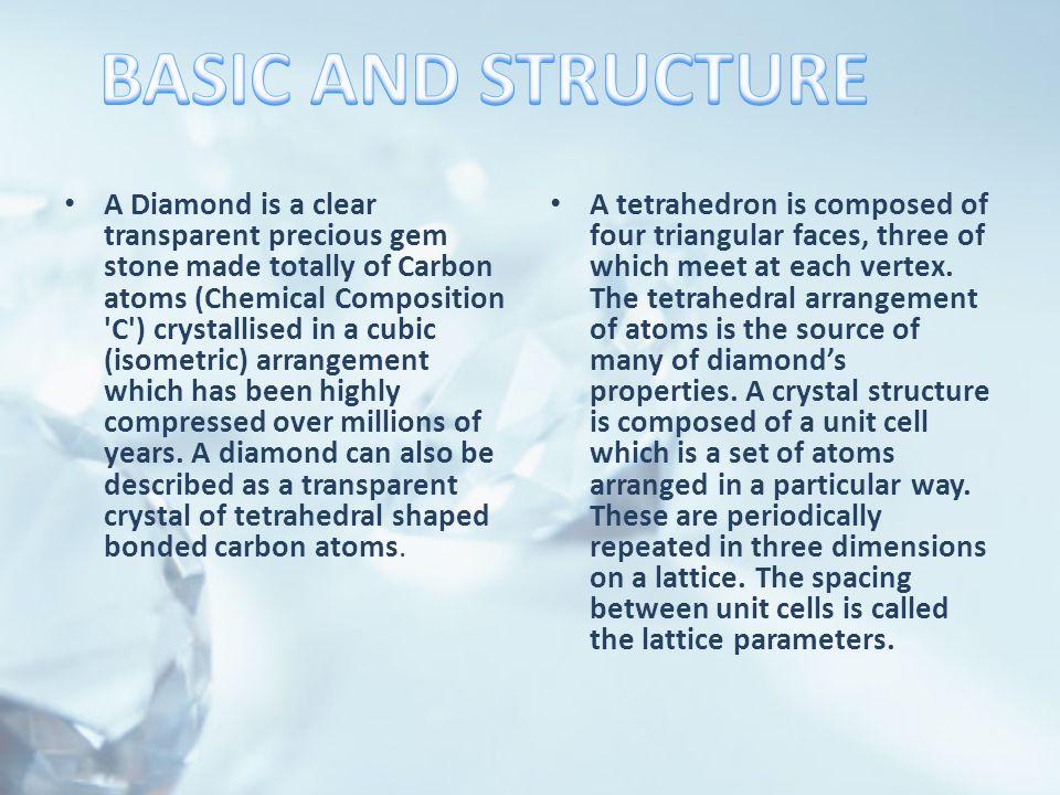 The 5 C's The key to each diamond's quality.