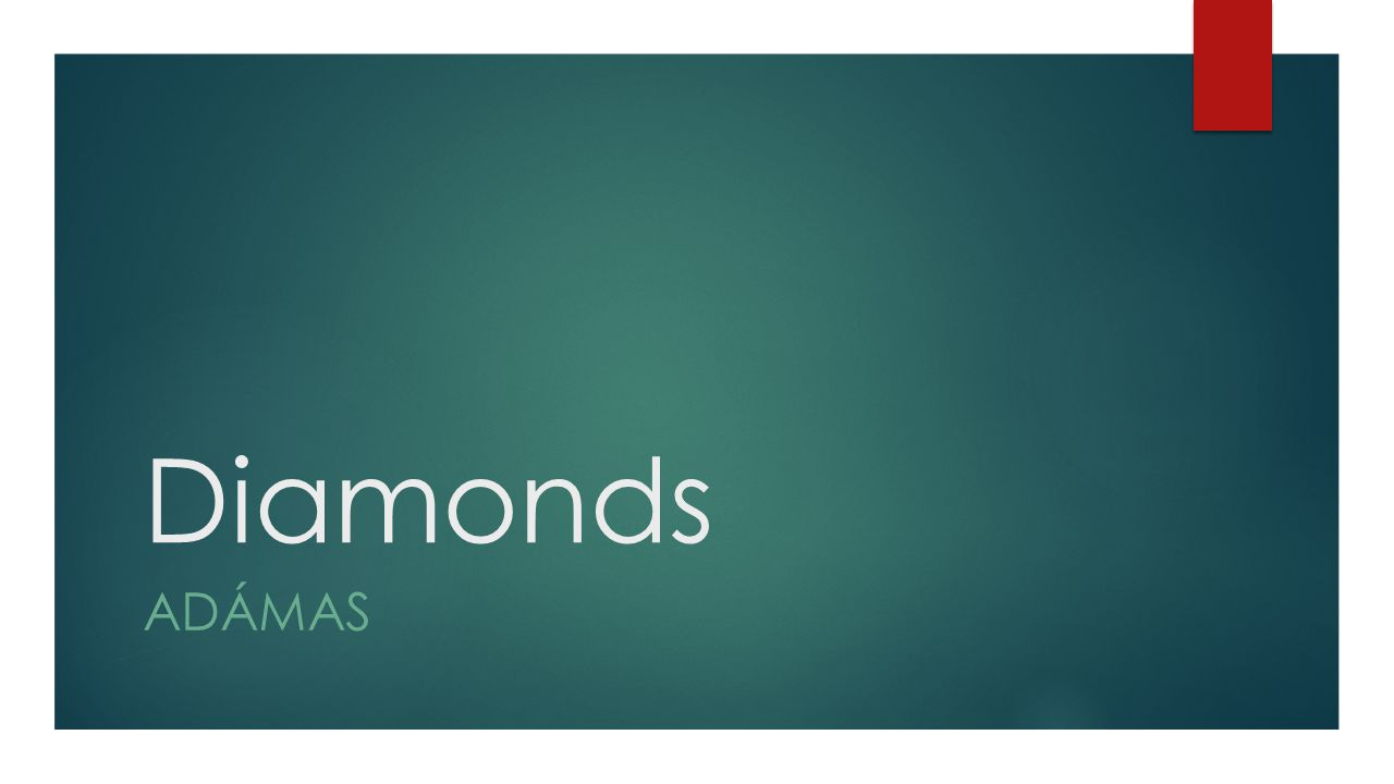 Diamonds ADÁMAS