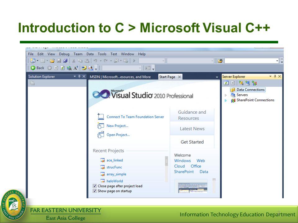 Introduction to C language > Running C Programs> Linking