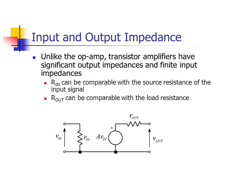 Summary In the context of the common-emitter amplifier we have covered: Small signal analysis Mutual conductance Input/output impedance Coupling capacitor requirements and cut-off frequencies Next time: Applying the same principles to the differential amplifier It's actually a much easier circuit to analyse – honest.
