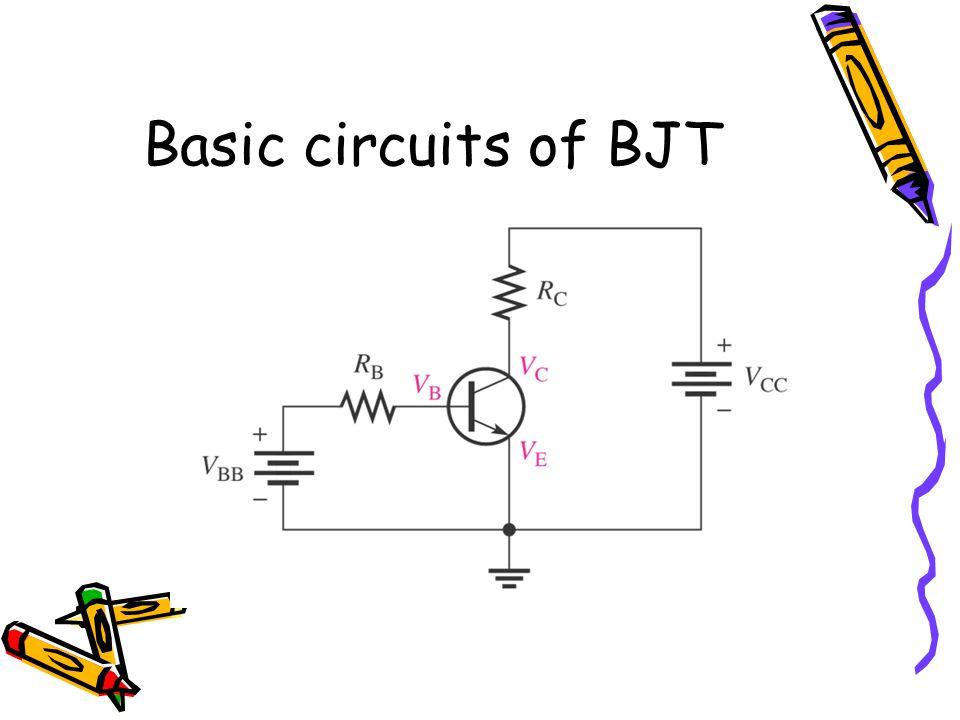 Basic circuits of BJT