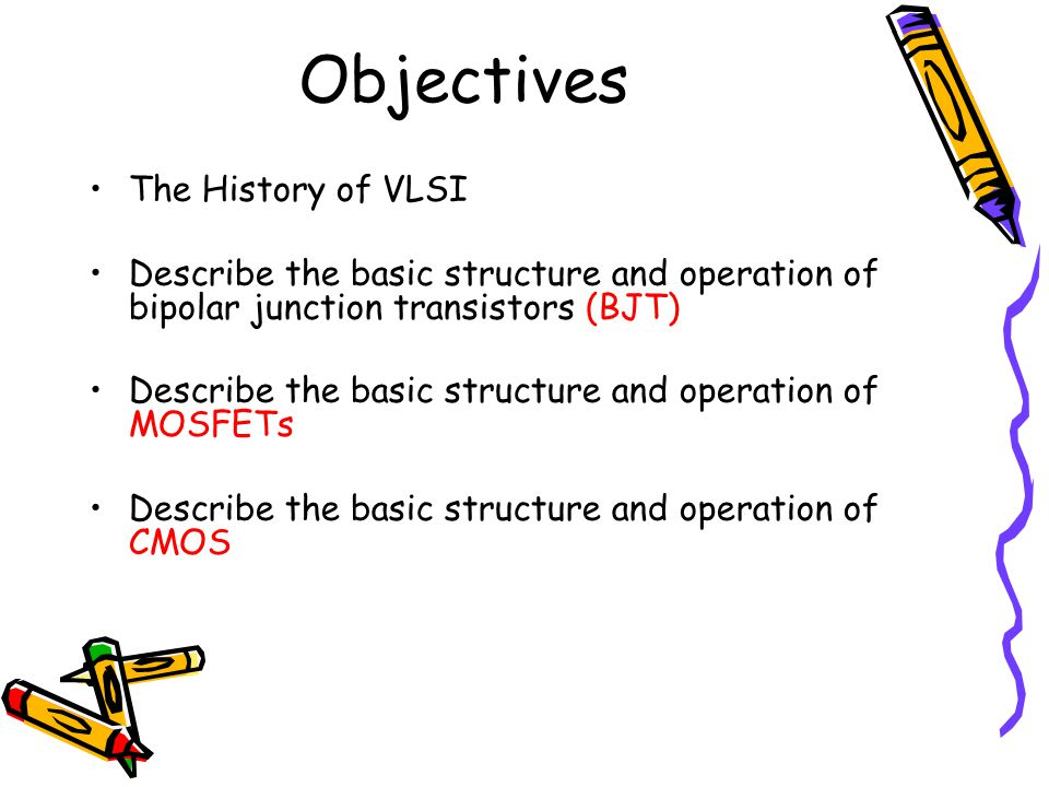 The History of VLSI IC(Integrated Circuits) History Evolution –vacuum tube, –single transistor, –IC (Integrated Circuits) SSI, MSI, LSI, VLSI, SoC