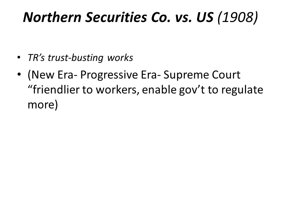 Northern Securities Co.vs.