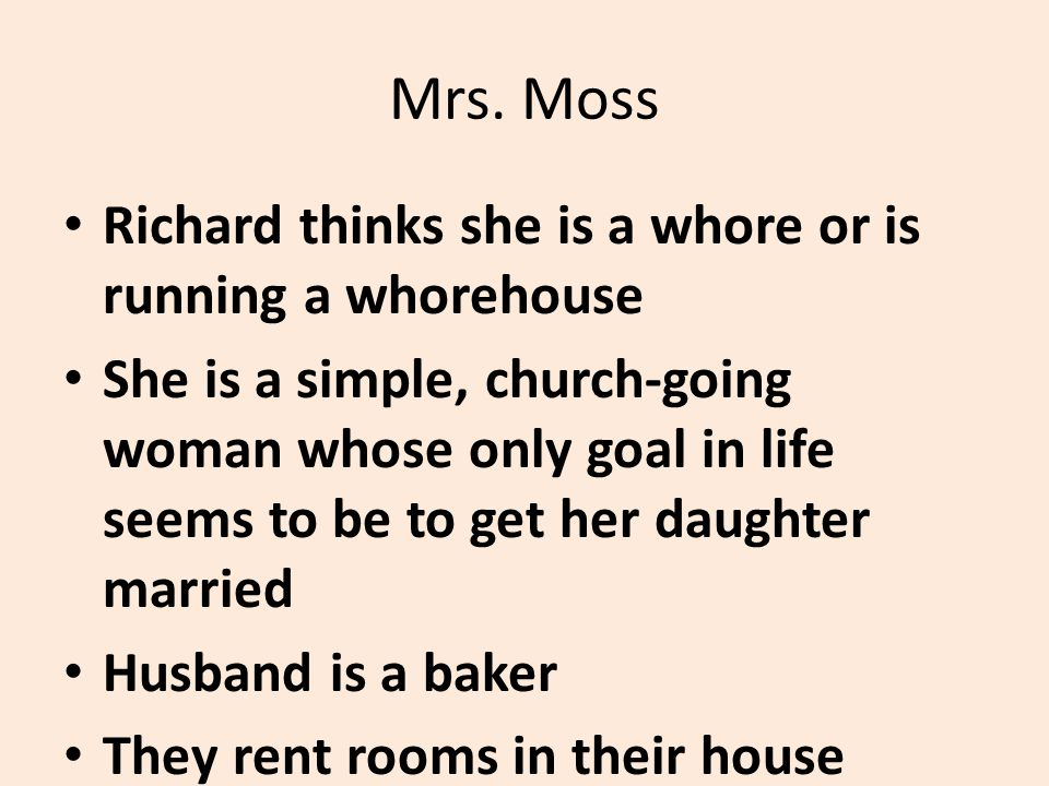 Important quotes about Mrs.