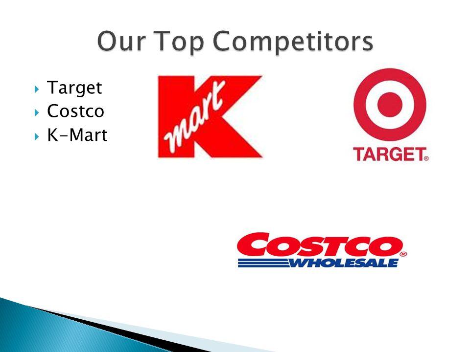  Target  Costco  K-Mart